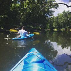 Kayaking the Tippecanoe